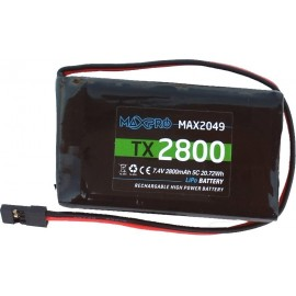MAXPRO - Batteria TX  Li-Po...