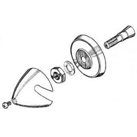 MP JET - Ogiva alluminio 30...